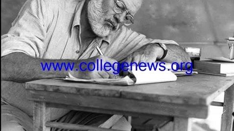 Thumbnail for entry Ernest Hemingway