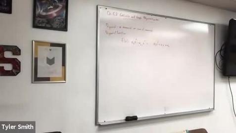 Thumbnail for entry Algebra 2 Class 3/2/21