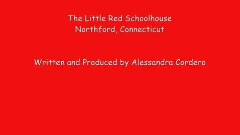 Thumbnail for entry The Little Red Schoolhouse