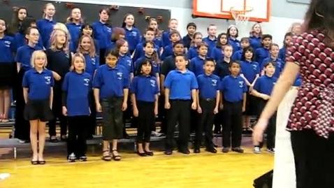 Thumbnail for entry Roosevelt Elementary Choir Rockin' Robin