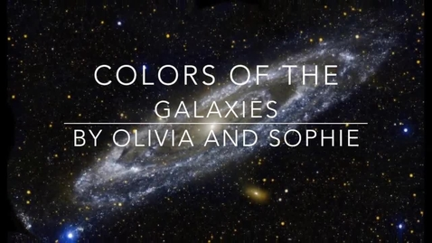Thumbnail for entry Colors of the Galaxies