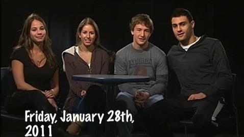 Thumbnail for entry Friday, January 28, 2011