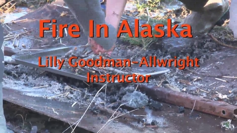 Thumbnail for entry Fire in Alaska