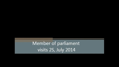 Thumbnail for entry Andrew Gwynne MP Visit