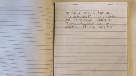 Thumbnail for entry Escritura - 9/24/20