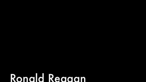 Thumbnail for entry Ronald Reagan, Iran Contra Scandal