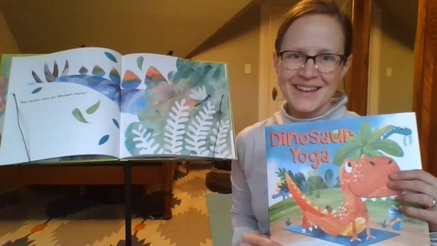 Thumbnail for entry Dinosaur Yoga with Ms. Andrea