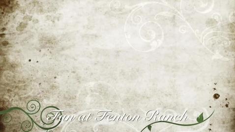 Thumbnail for entry Fenton Film 2014 #7