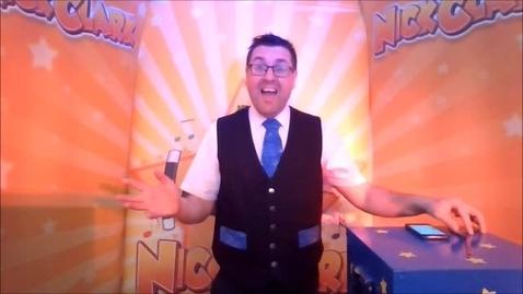 Thumbnail for entry Mr Clark Magic Show_1