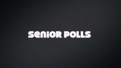 Thumbnail for entry Senior Polls