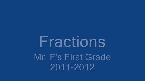 Thumbnail for entry Fractions