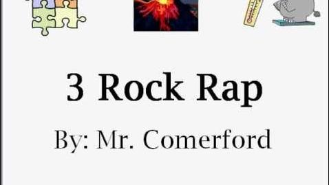 Thumbnail for entry Mr. Comerford - 3 Rock Rap