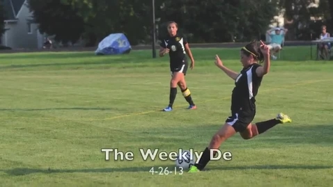 Thumbnail for entry The Weekly De 4-26-13