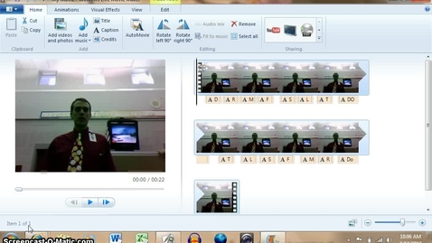 Thumbnail for entry Finishing WIndows Live Movie Maker Videos