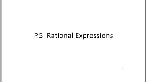 Thumbnail for entry p.4 rational expressions notes IC