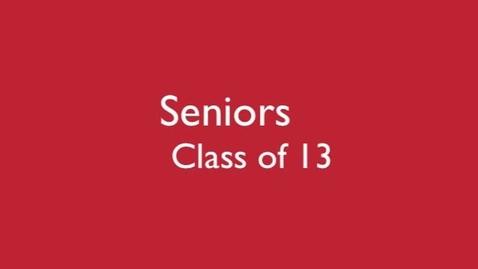 Thumbnail for entry Senior Memories Mashup