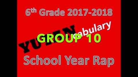 Thumbnail for entry Yutan School Year Rap 2017-2018