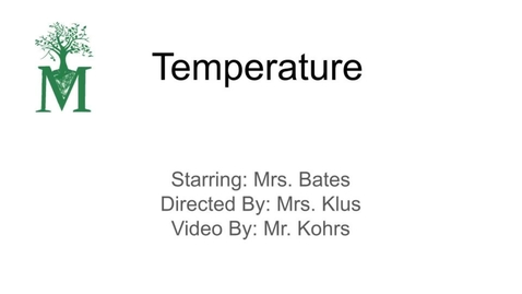 Thumbnail for entry Temperature