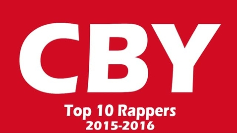 Thumbnail for entry Top 10 Rappers - Beginning Broadcasting 2016