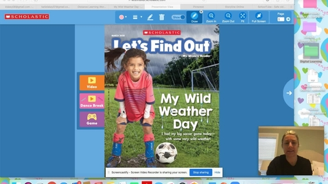 Thumbnail for entry Scholastic Reader Weather