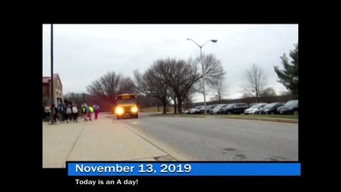 Thumbnail for entry WHMS Morning Show November 13, 2019