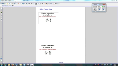 Thumbnail for entry 01-Solving Proportions-W7_Q1-Q2-Q3
