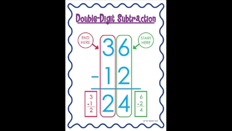 Thumbnail for entry Subtraction two digit Tuesday, May 19