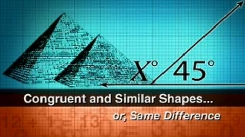 Thumbnail for entry Congruent & Similar Shapes