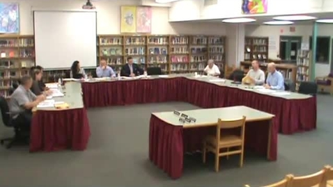 Thumbnail for entry Hackettstown Board of Education Meeting - 10-15-2014