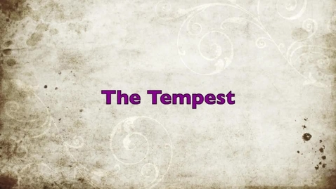 Thumbnail for entry The Tempest
