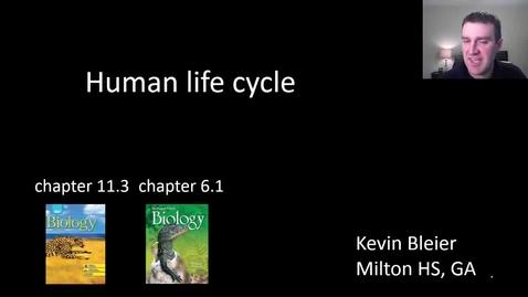 Thumbnail for entry Human life cycle