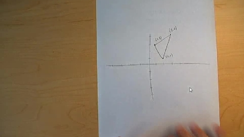 Thumbnail for entry Visual representation of rotations in the coordinate plane