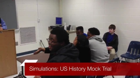 Thumbnail for entry US History Mock Trial