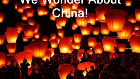 """Thumbnail for entry Kinder """"I wonder about China"""""""