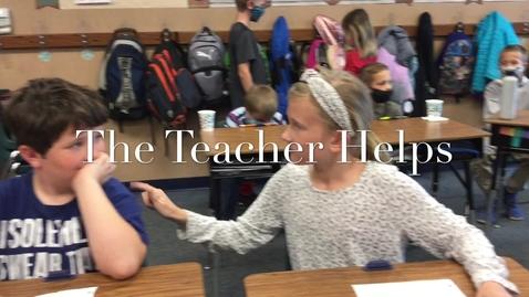 Thumbnail for entry The Teacher Helps