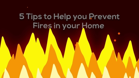 Thumbnail for entry Fire Prevention PSA