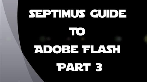 Thumbnail for entry JHS Screencast Part 3- Guide to Adobe Flash (KAH)