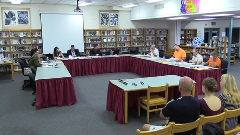 Thumbnail for entry Hackettstown Board of Education Meeting - October 19th, 2016