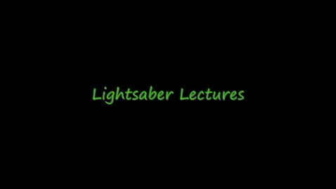 Thumbnail for entry Lightsaber Lectures Episode 22: Finding the Mean