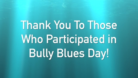 Thumbnail for entry Bully Blues Day 2019