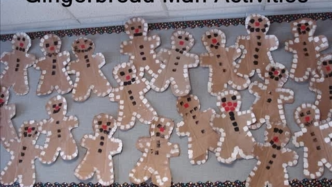 Thumbnail for entry Gingerbread Man Activities