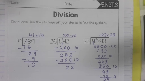 Thumbnail for entry Math 2.6  Part 2 - Wednesday September 30