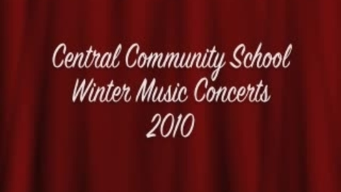 Thumbnail for entry Central Community School