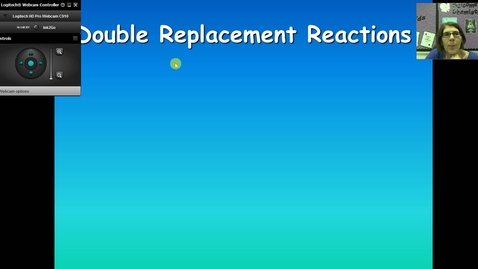 Thumbnail for entry Unit 4 Double Replacement Reactions
