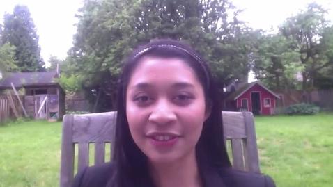 Thumbnail for entry ASB Treasurer Marianne Albay