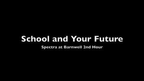 Thumbnail for entry School and the Future