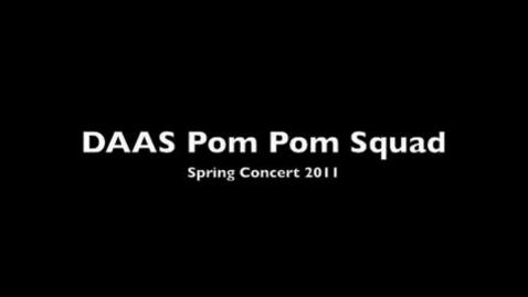 Thumbnail for entry Pom Pom Squad at the Spring Concert
