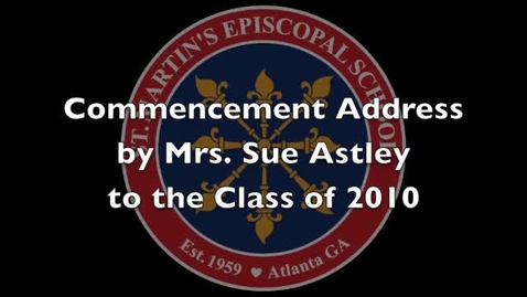 Thumbnail for entry Commencement Address