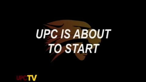 Thumbnail for entry UPC TV 1-12-12 LIVE Show