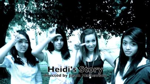 Thumbnail for entry Heidi's story
